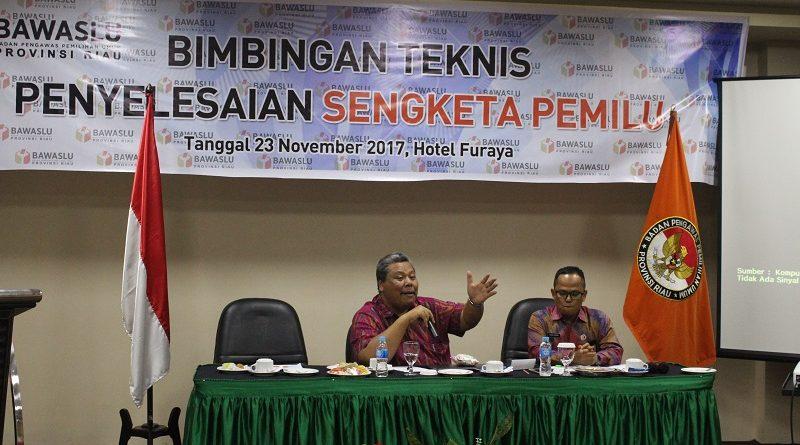 Bambang Eka Cahya Widodo: Puncak dari Sengketa adalah Perpecahan