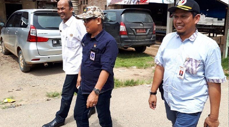 Ketua Bawaslu Riau Monitoring Pelaksaan Coklit di Rokan Hulu